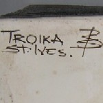 Troika Pottery Decorator Mark Benny Sirota