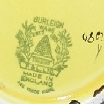 Burleigh Ware Burgess & Leigh Beehive printed mark