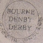 Bourne Denby Derby circle stamp