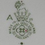 Royal Doulton printed mark