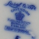 Keeling & Co Losol Ware Cavendish Pottery Mark