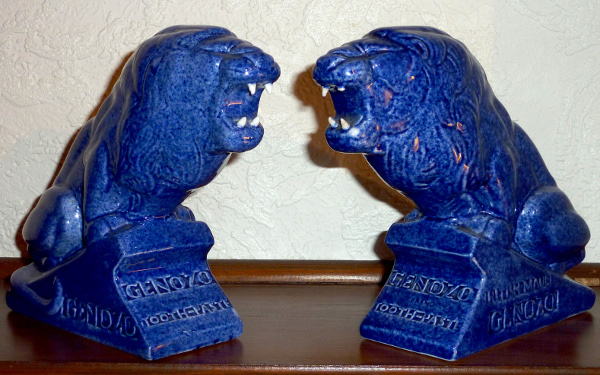 Ashtead Pottery Genozo Toothpaste Advertising Figures