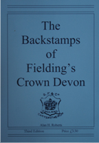 The Backstamps of Fielding's Crown Devon by Alan H. Roberts