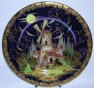 Maling Windmill Plate or Charger