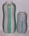 Poole Pottery Freeform Range Vases - Alfred Read Pattern PKT