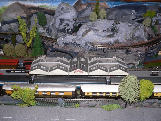 OO Gauge Model Train Layout