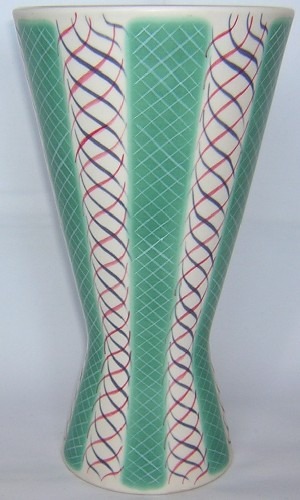 Poole Pottery Alfred Read Pattern Vase, PKT
