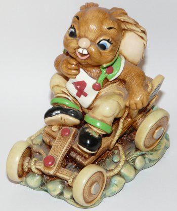 PenDelfin Rabbit Humphrey Go Kart Designed By Jean Walmsley Heap