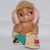 1996 PenDelfin Family Circle Rabbit Newsie Designed By Doreen Noel Roberts